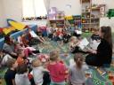 """Spotkanie z dziećmi z Niepublicznego Przedszkola """"EDUKACJA"""" w Czaplinku"""